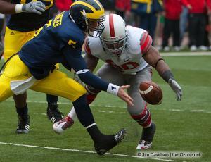 020 Thaddeus Gibson Tate Forcier Ohio State Michigan 2009 football