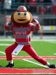 012 Brutus Buckeye Ohio State football Michigan 2010