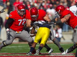 028 Dexter Larrimore Ross Homan John Simon Ohio State football Michigan 2010
