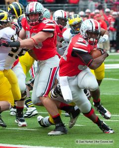 027 Jeff Heuerman Carlos Hyde Ohio State Michigan 2012