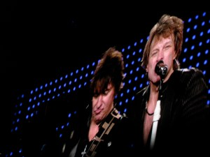 Bon Jovi screen