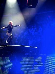 Bon Jovi stage