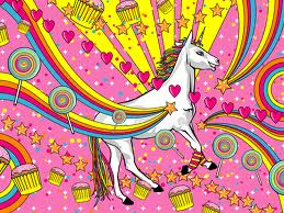 unicorns and glitter
