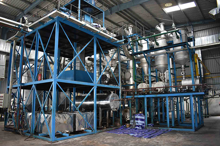 Uflex's new pyrolysis plant and MLP recycling machine | THE PACKMAN