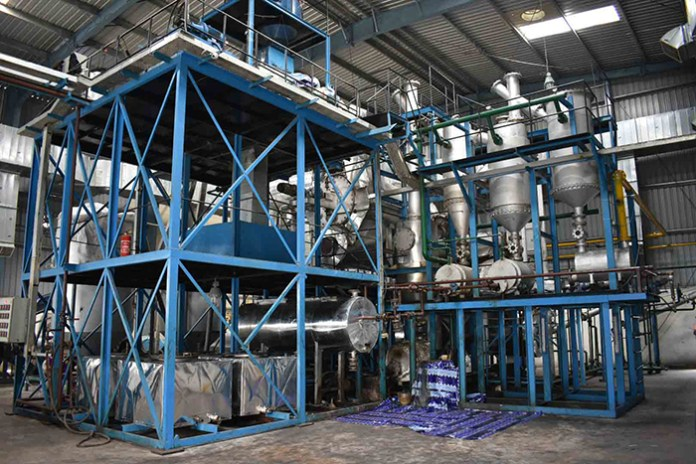 Uflex's new pyrolysis plant and MLP recycling machine | THE