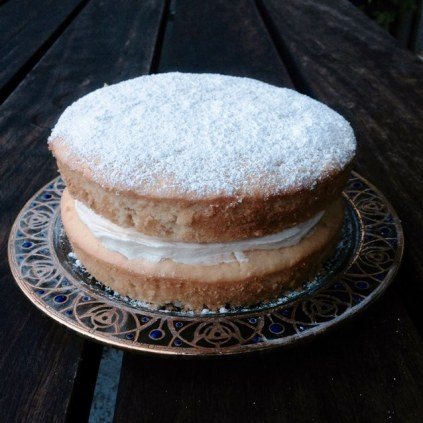 Yoghurt Sponge Cake With Buttercream