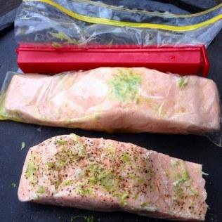 Simple Sous Vide Salmon Fillet