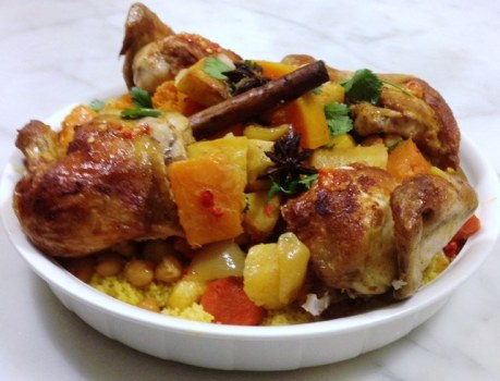Roast Chicken And Vegetable Couscous Ottolenghi Style