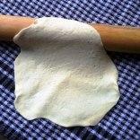 Yoghurt Flatbread Rolled