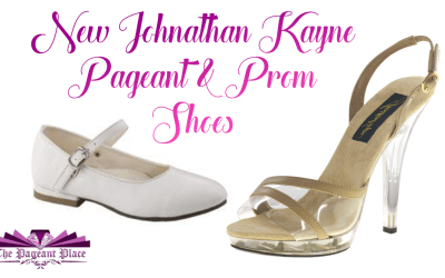 New Johnathan Kayne Pageant & Prom Shoes