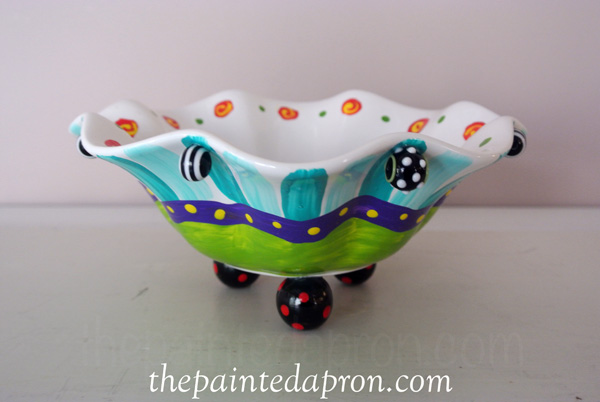 funky bowl thepaintedapron.com