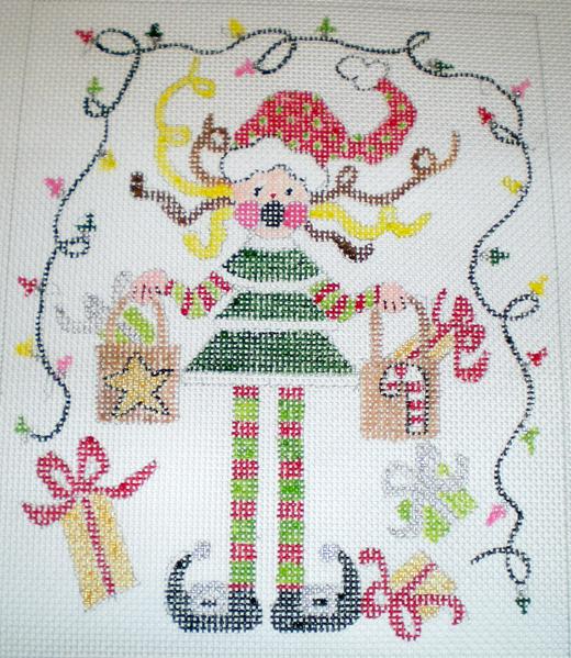 HollyDayStress canvas, JMdesigns.com