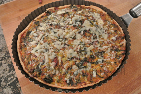 swiss chard tart 1 thepaintedapron.com