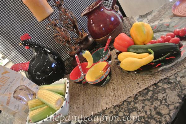Mexican buffet thepaintedapron.com