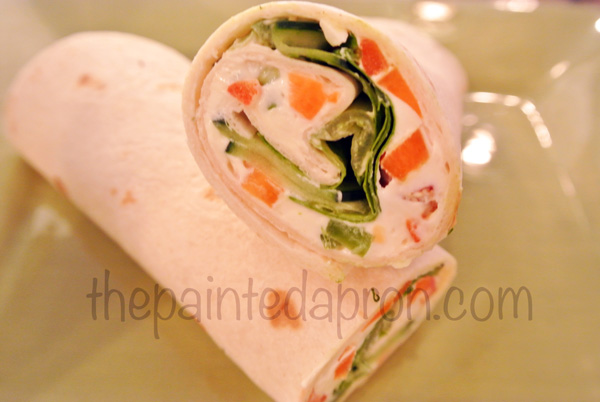 veggie wrap thepaintedapron.com