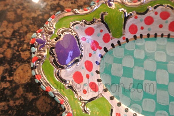 painted tray thepaintedapron.com