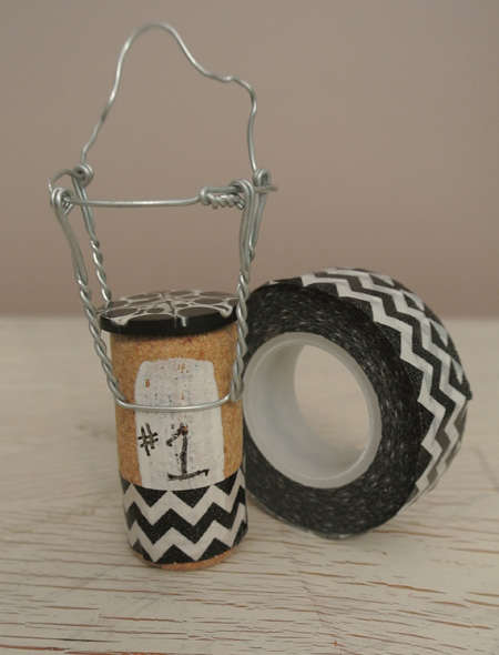 black & white cork thepaintedapron.com