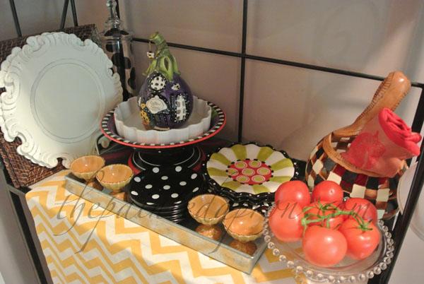 baker's rack 3 thepaintedapron.com
