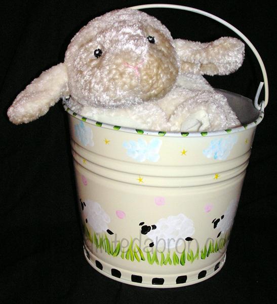 lamb baby gift thepaintedapron.com