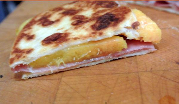 peach quesadilla 1 thepaintedapron.com