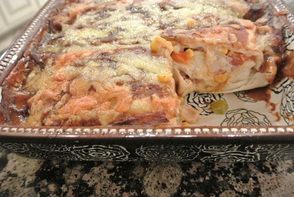 easy enchiladas thepaintedapron.com