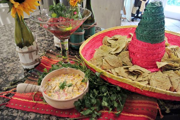 fiesta dip thepaintedapron.com
