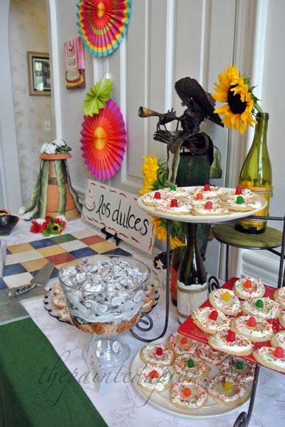 los dulces table thepaintedapron.com