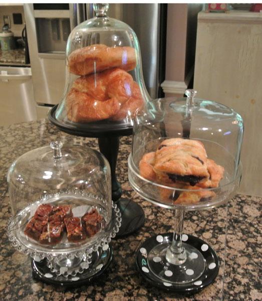 pastries in cloches thepaintedapron.com