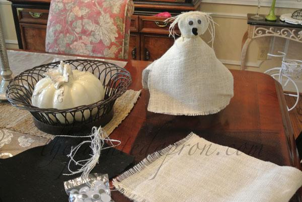 burlap ghost thepaintedapron.com