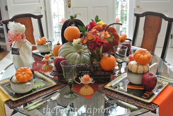 apples & pumpkins table 2 thpaintedapron.com