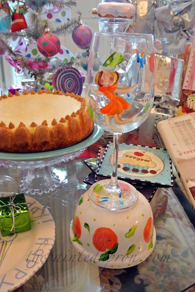 birthday girl glass thepaintedapron.com