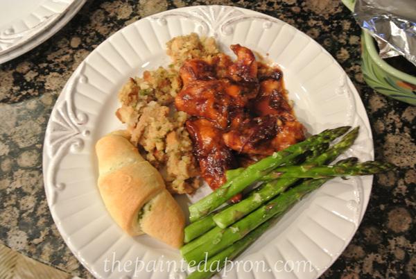 cranberry chicken thepaintedapron.com