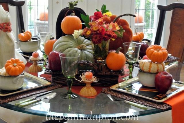 Pumpkins and Apples