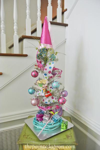 birthday tree thepaintedapron.com