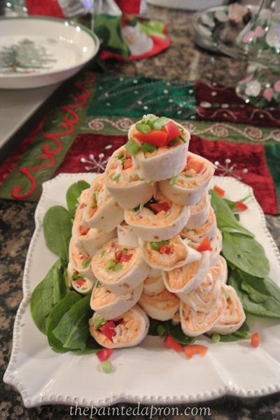 tortilla spiral tree thepaintedapron.com