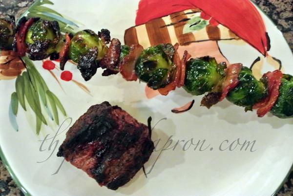brussel sprout skewers thepaintedapron.com
