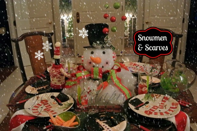 snowman table 6 thepaintedapron.com