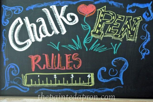 chalk pen thepaintedapron.com