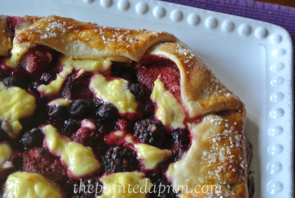 mixed berry galette 3 thepaintedapron.com