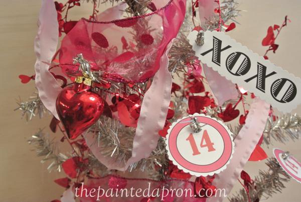 paper valentine decorations thepaintedapron.com