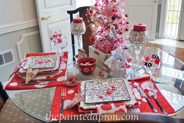 Valentine table 5 thepaintedapron.com