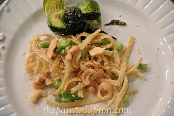 cashew fettucini thepaintedapron.com