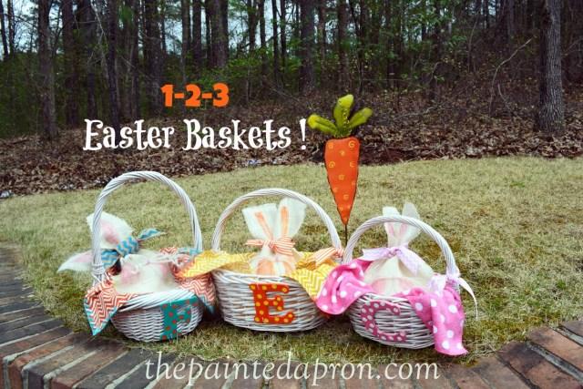 1-2-3 Easter baskets thepaintedapron.com