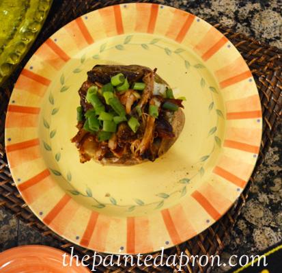 BBQ potato thepaintedapron.com