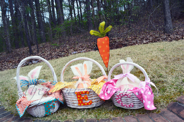easy Easter baskets thepaintedapron.com