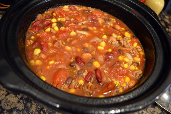 taco soup thepaintedapron.com