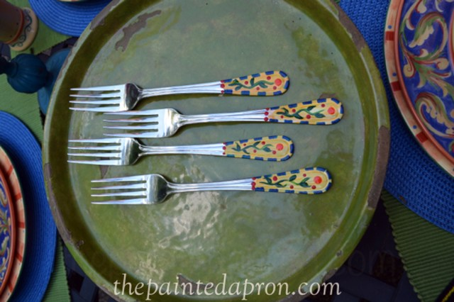 painted forks thepaintedapron.com