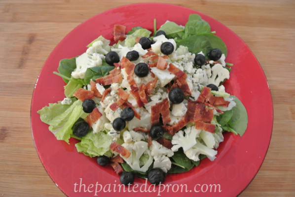 red white and blue salad thepaintedapron.com