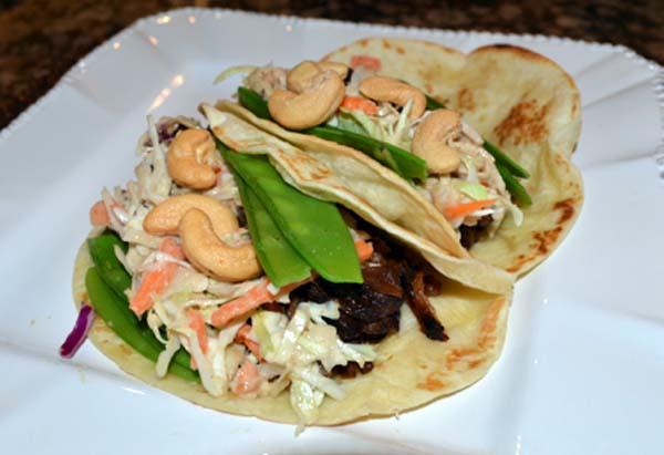 short rib and slaw tacos thepaintedapron.com