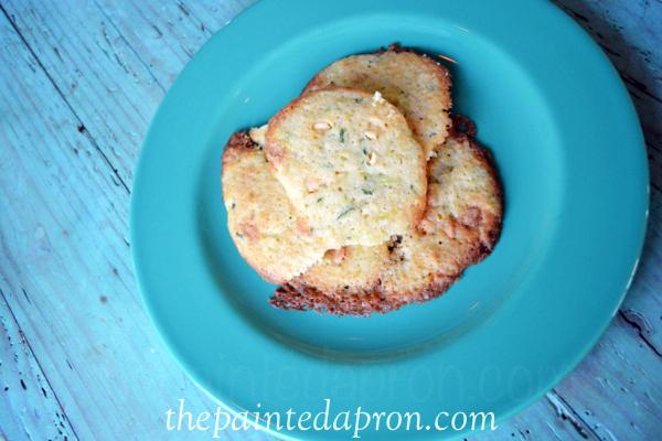 white choc chip zucchini cookies thepaintedapron.com